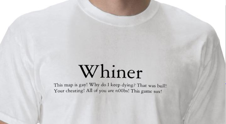 how to stop being a whiner